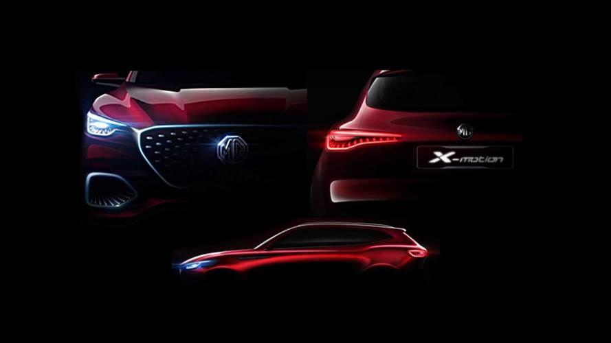 MG, X-Motion SUV konseptini Pekin'de sergileyecek