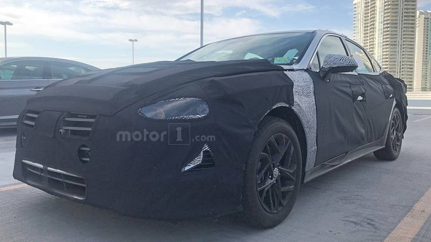 2020 Hyundai Sonata Spy Photos