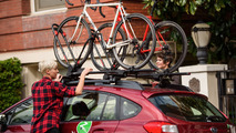 Subaru Zipcar with Yakima bike racks