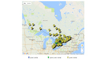 Nearly 500 EV charging stations coming to cities across Ontario
