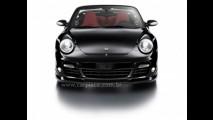Porsche 911 Turbo Cabrio Techart modificado com 630 cavalos de potência