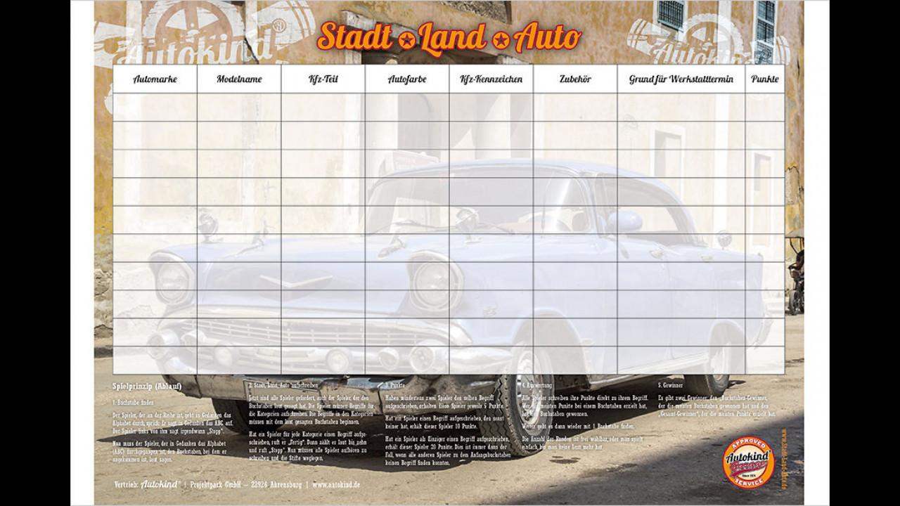 Stadt-Land-Auto