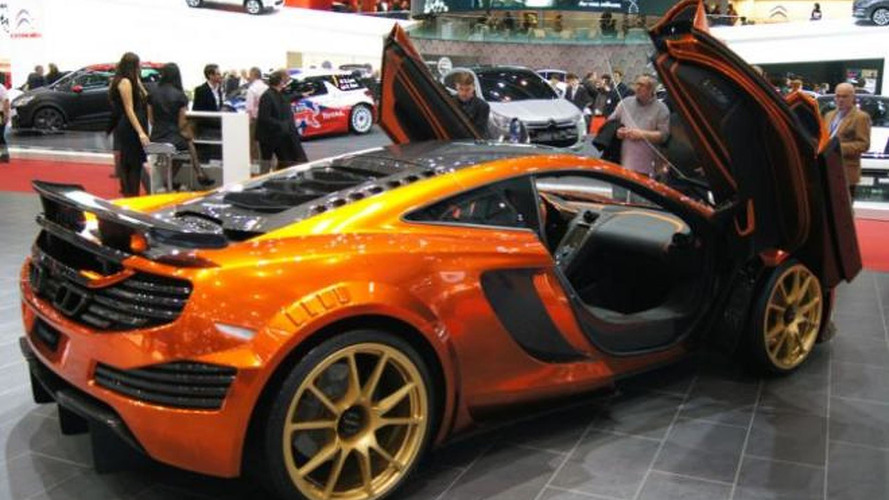 Mansory MP4-12C live in Geneva