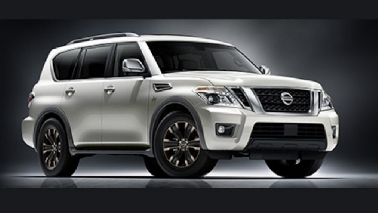 2017 Nissan Armada leaked official photo