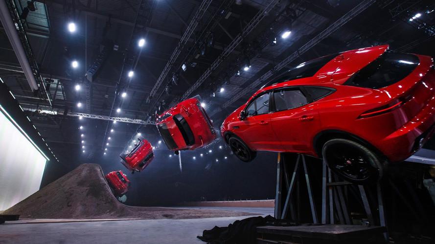 Jaguar E-Pace Performs World's Longest Barrel Roll