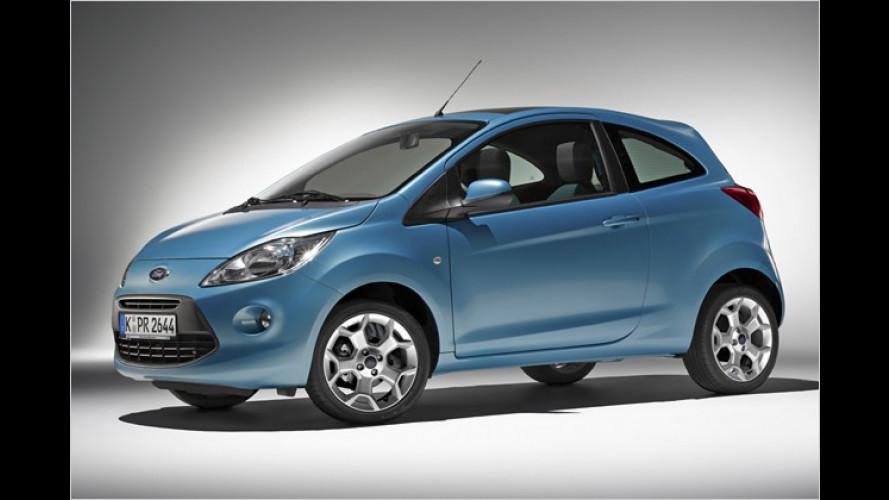 Knuffiger Ka-merad: Ford zeigt erste Bilder des neuen Ka