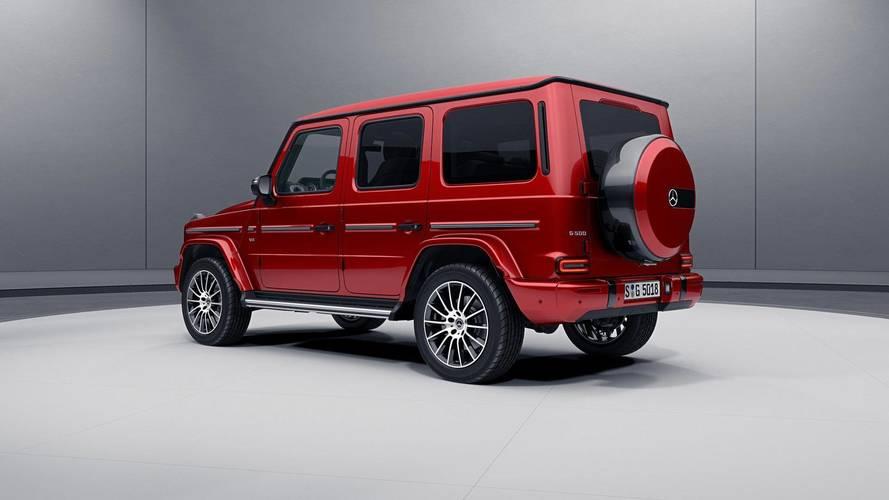 Mercedes-Benz G Serisi Night Pack