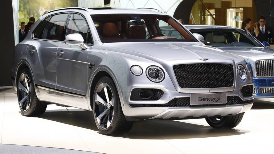 Bentley Bentayga V8 Gasoline Live From Geneva Motor Show