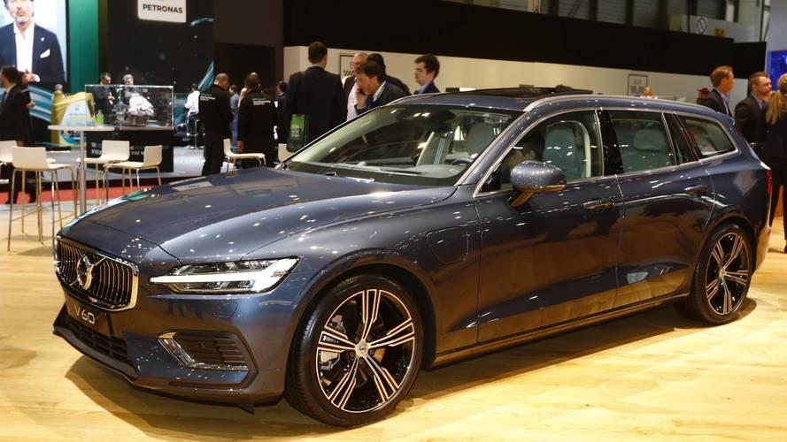 Volvo V60 at the 2018 Geneva Motor Show