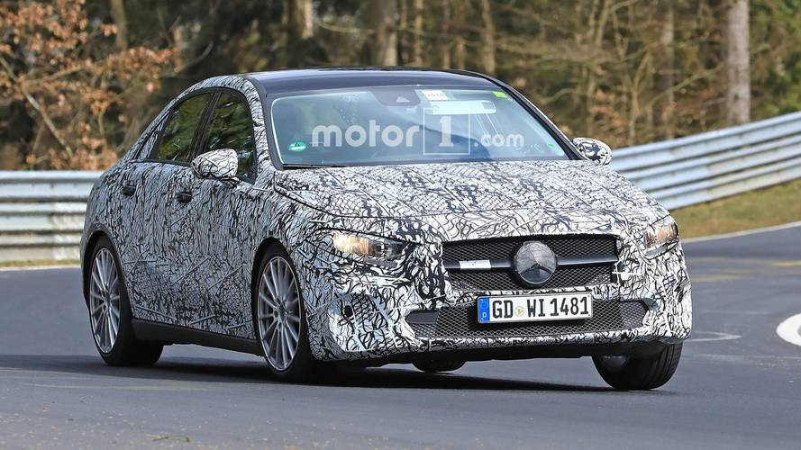 Mercedes-Benz A-Class Sedan Caught Exercising At The Nürburgring