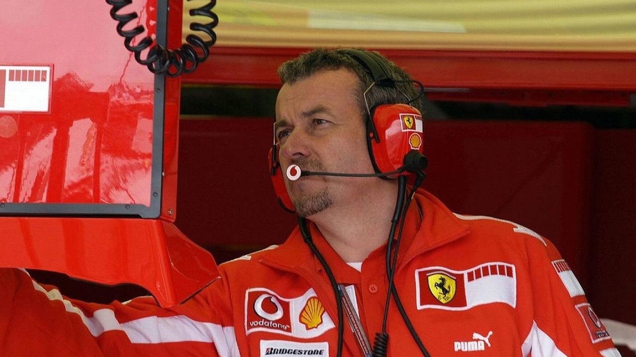 Nigel Stepney during Ferrari good times