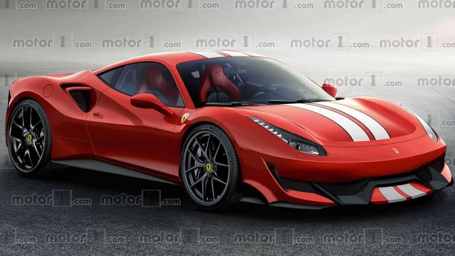Ferrari 488 Sport Special Series: te mostramos un render... y algo más