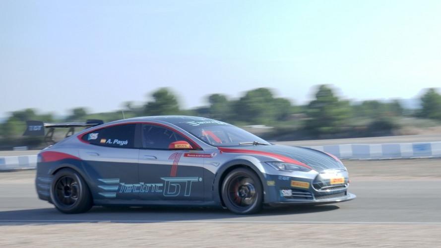 Tesla Model S, ecco la versione per il trofeo EGT [VIDEO]