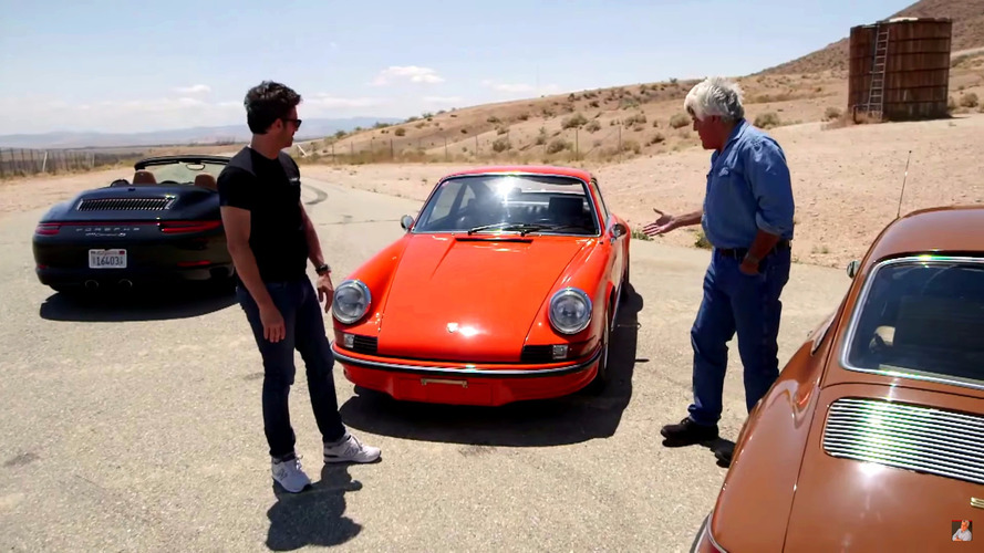 Watch Jay Leno and Patrick Dempsey hoon a classic Porsche 911 RS