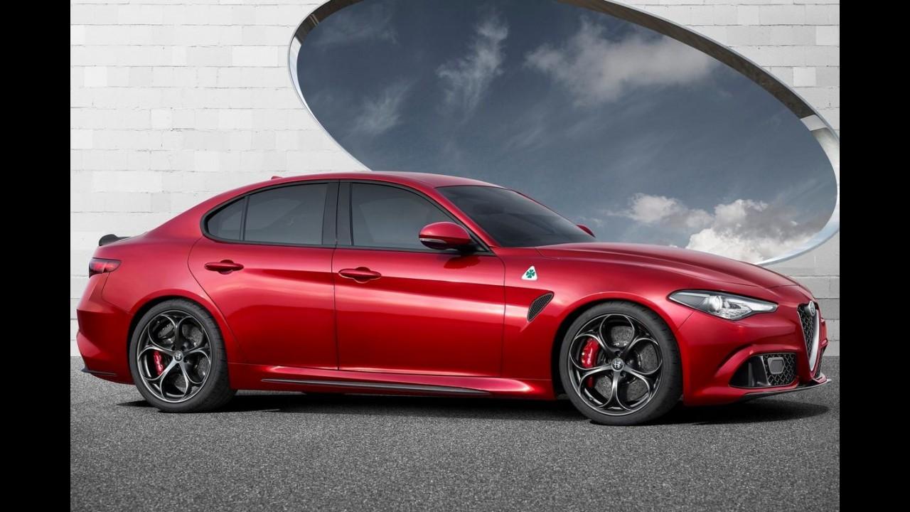 """Ouça o ronco do Alfa Romeo Giulia QV, o """"pesadelo do BMW M3"""" - vídeo"""
