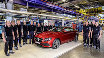 Mercedes E-Class Coupe production start