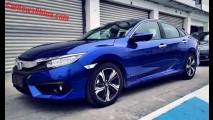 Novo Civic 2016 será lançado na China em abril apenas com motor 1.5 turbo