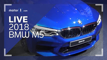 2018 BMW M5 Live Look Cover Image