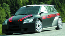 Carlos Sainz Testing the New Skoda Fabia S2000