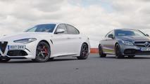 Alfa Romeo Giulia QV vs. Mercedes-AMG C63 S