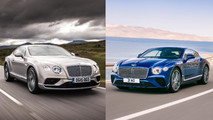 Bentley Continental GT Side-By-Side Changes