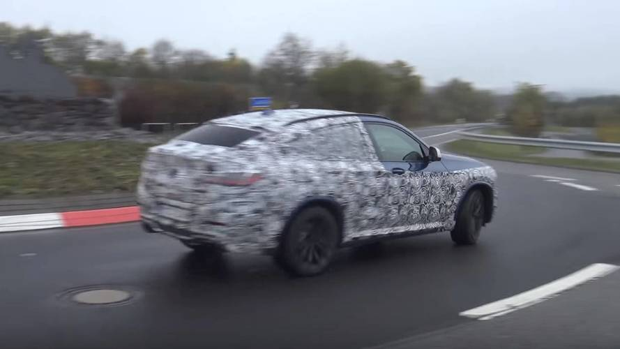 BMW X4 M40i Seen In Action At The Nurburgring