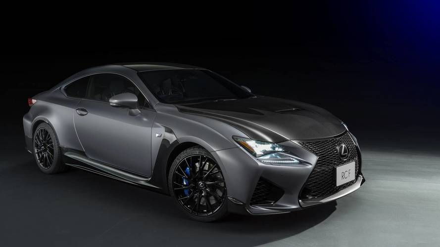 Lexus Marks 10 Years Of F Models With RC F, GS F Special Editions