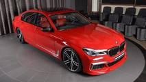BMW M760Li xDrive rojo Imola