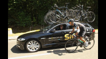 Jaguar XF Sportbrake al Tour de France