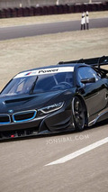 BMW i8 imagined as a racing car