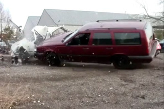 Video: This Volvo Station Wagon is Indestructible