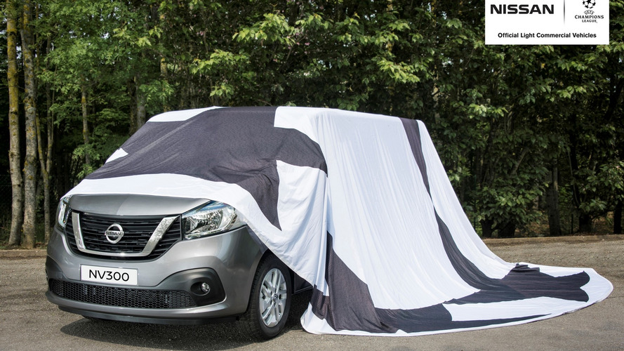 Nissan teases… a van