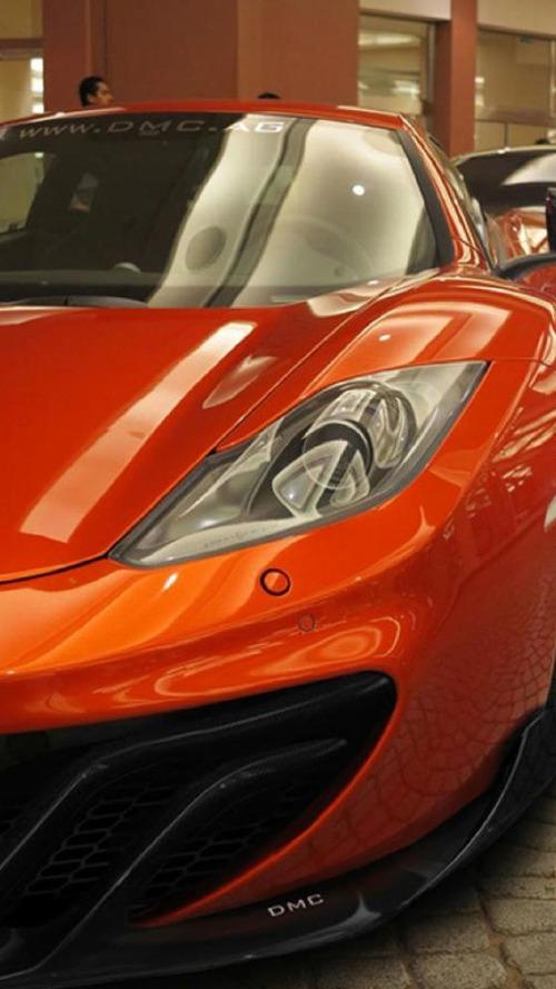 DMC teases McLaren MP4-12C Velocita