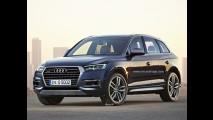 Projeção antecipa visual do novo Audi Q5, que será feito no México em 2016