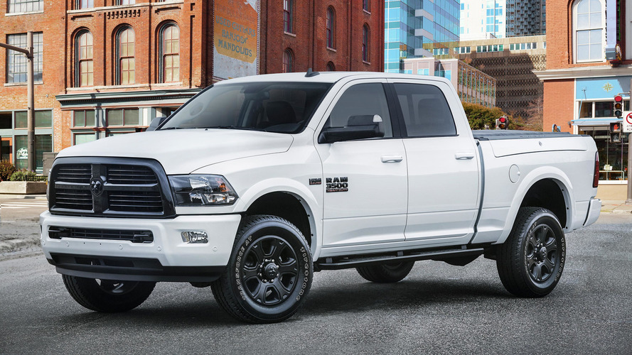 2017 Ram 1500 Copper Sport and 2500 and 3500 Night Package