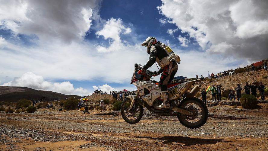 Piloto do Dakar é atingido por raio, mas ainda termina etapa