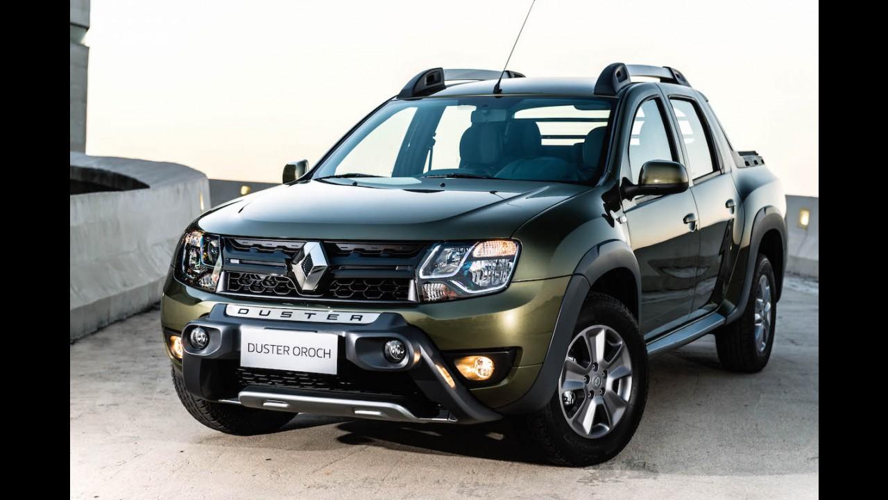 Renault lança Duster Oroch com preços entre R$ 62.290 e R$ 72.490