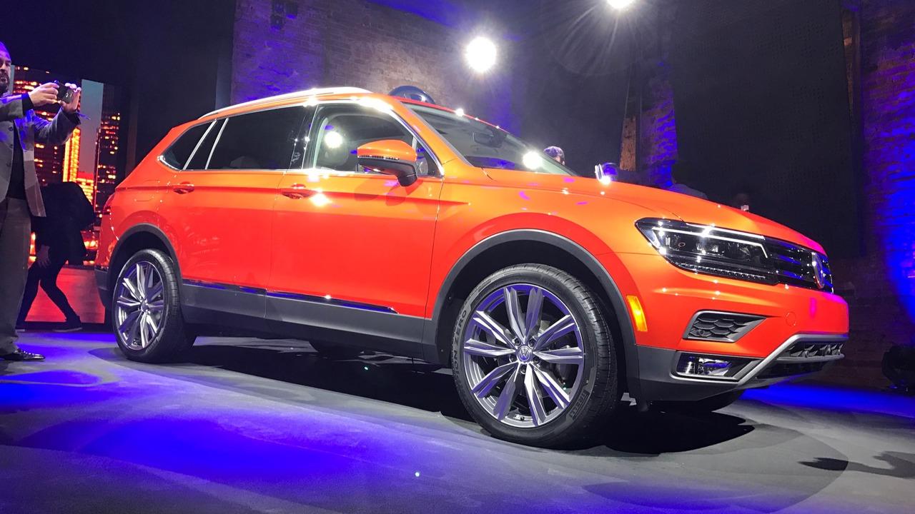 Volkswagen Brings Long Wheelbase Tiguan To America