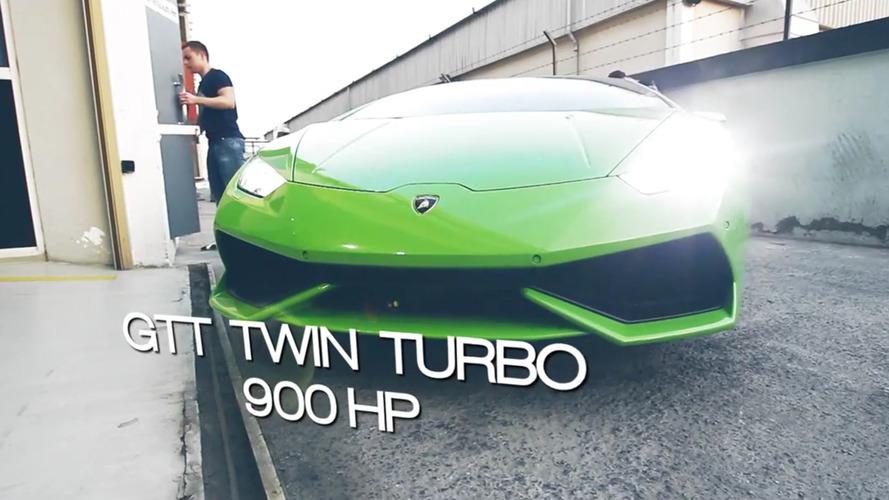 VIDÉO - Deux turbos et 900 chevaux pour cette Lamborghini Huracan