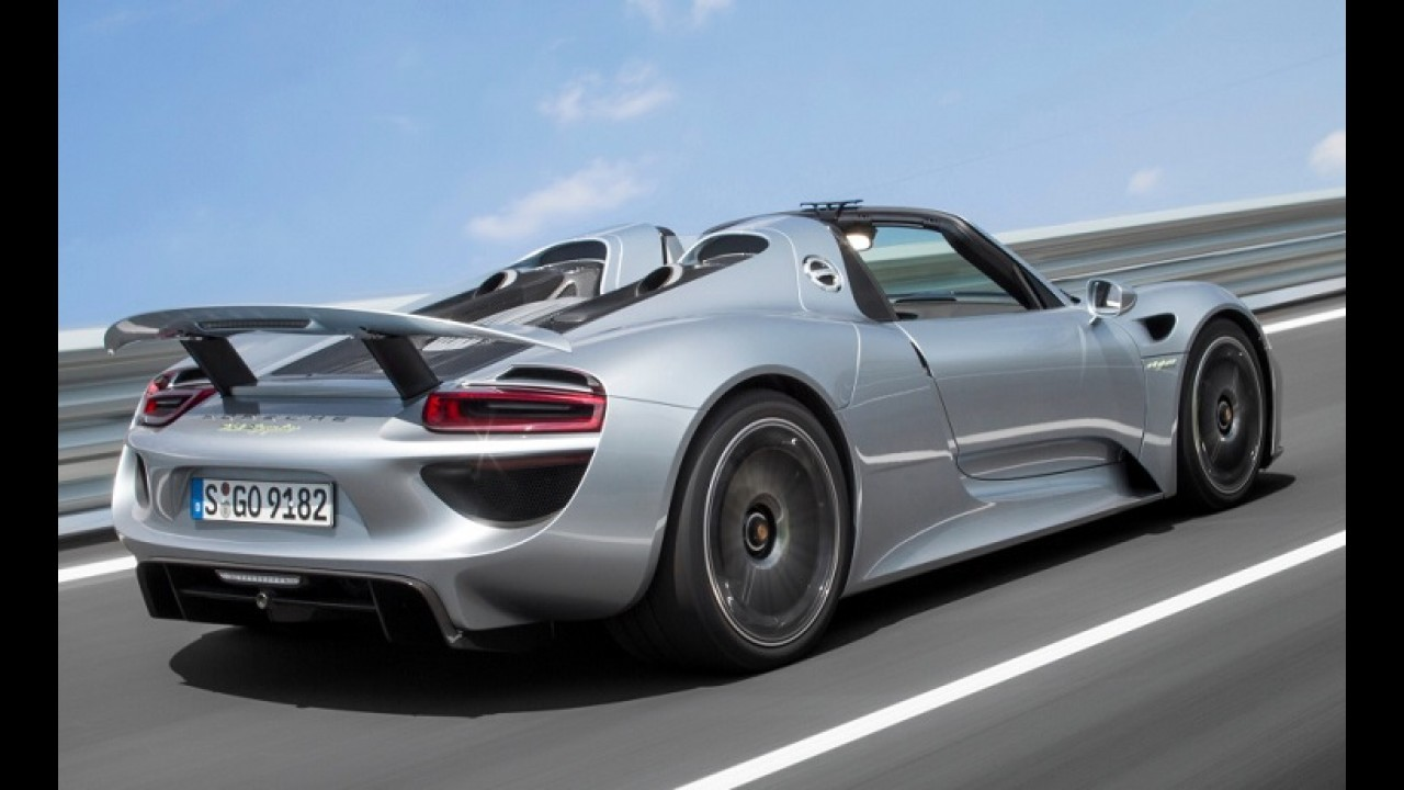 Porsche convoca as 3 únicas unidades do 918 Spyder no Brasil para recall