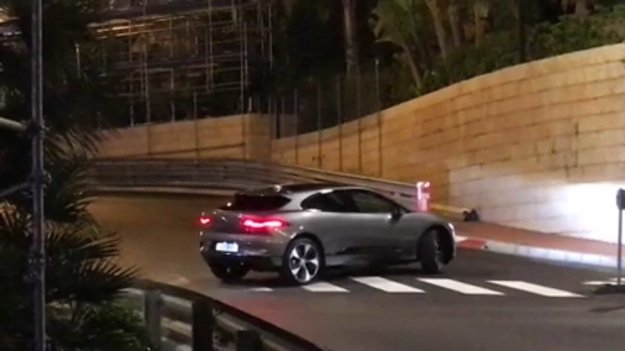VIDÉO - Le Jaguar I-Pace sans camouflage à Monaco