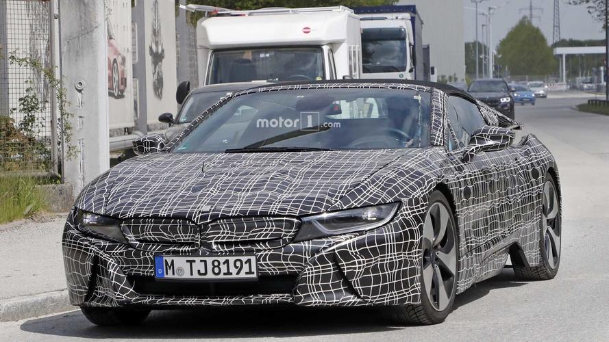 BMW i8 daha fazla elektrikli güce sahip olacak