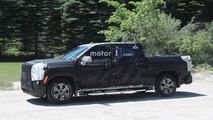 Next-gen GMC Sierra 1500 Spy Shots