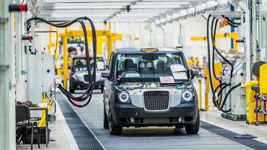 New $374 Million Electric London Taxi Plant Opens