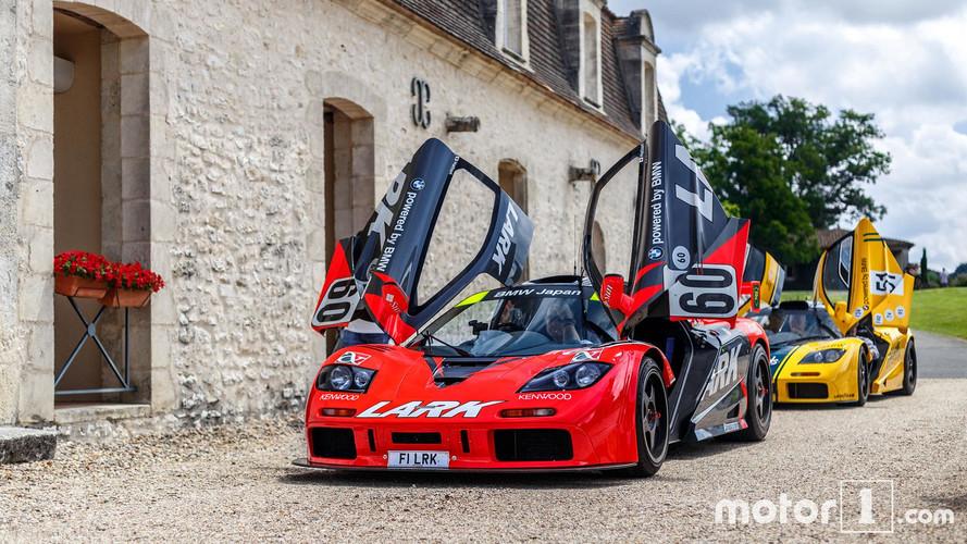 El Tour de McLaren pasó por Burdeos