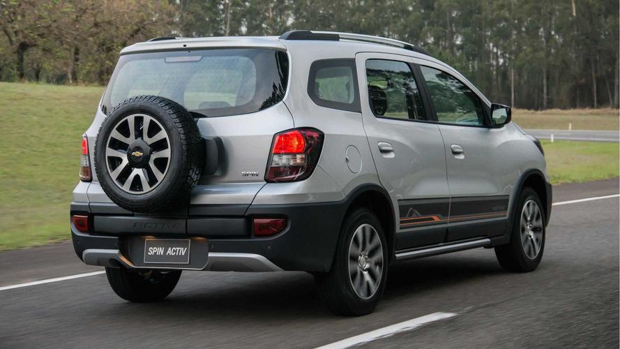 Recall - Chevrolet convoca 164 mil Spin por risco de incêndio