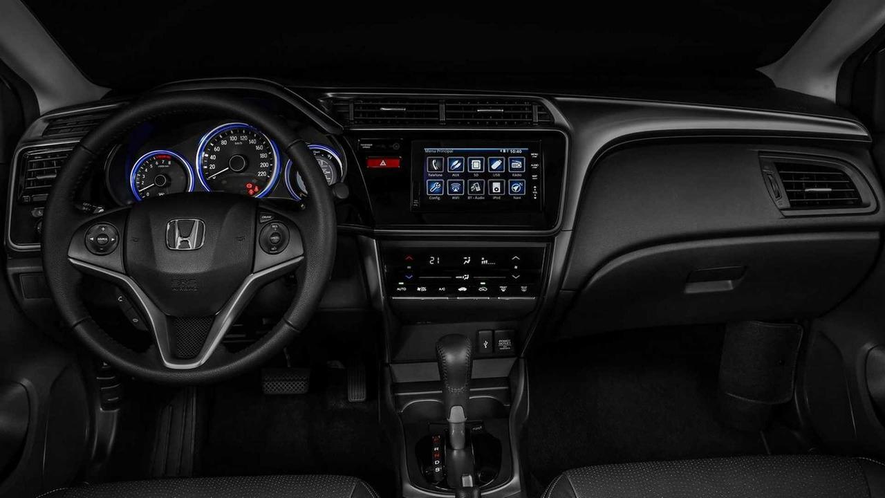Honda City EXL interior