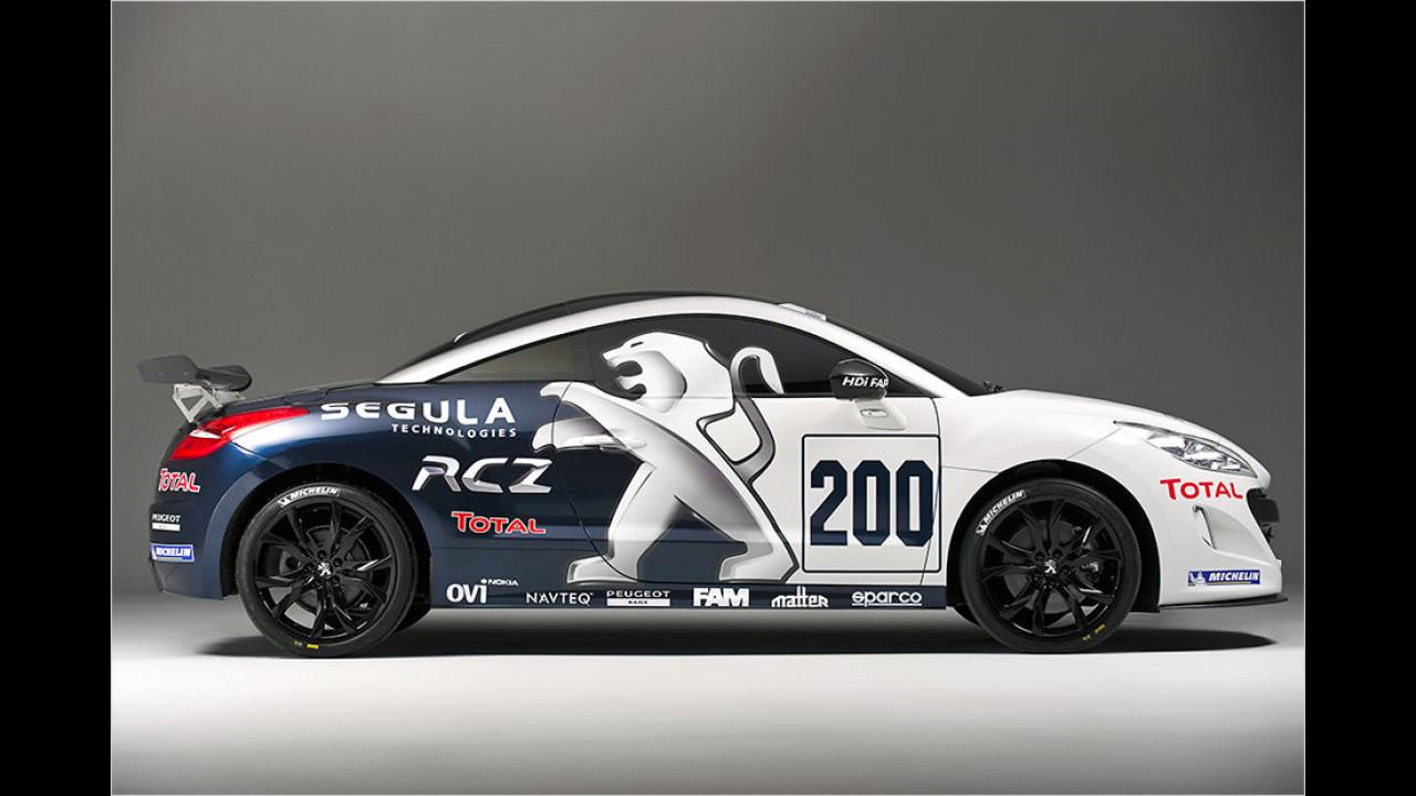 Lösung: Peugeot RCZ Racing Cup
