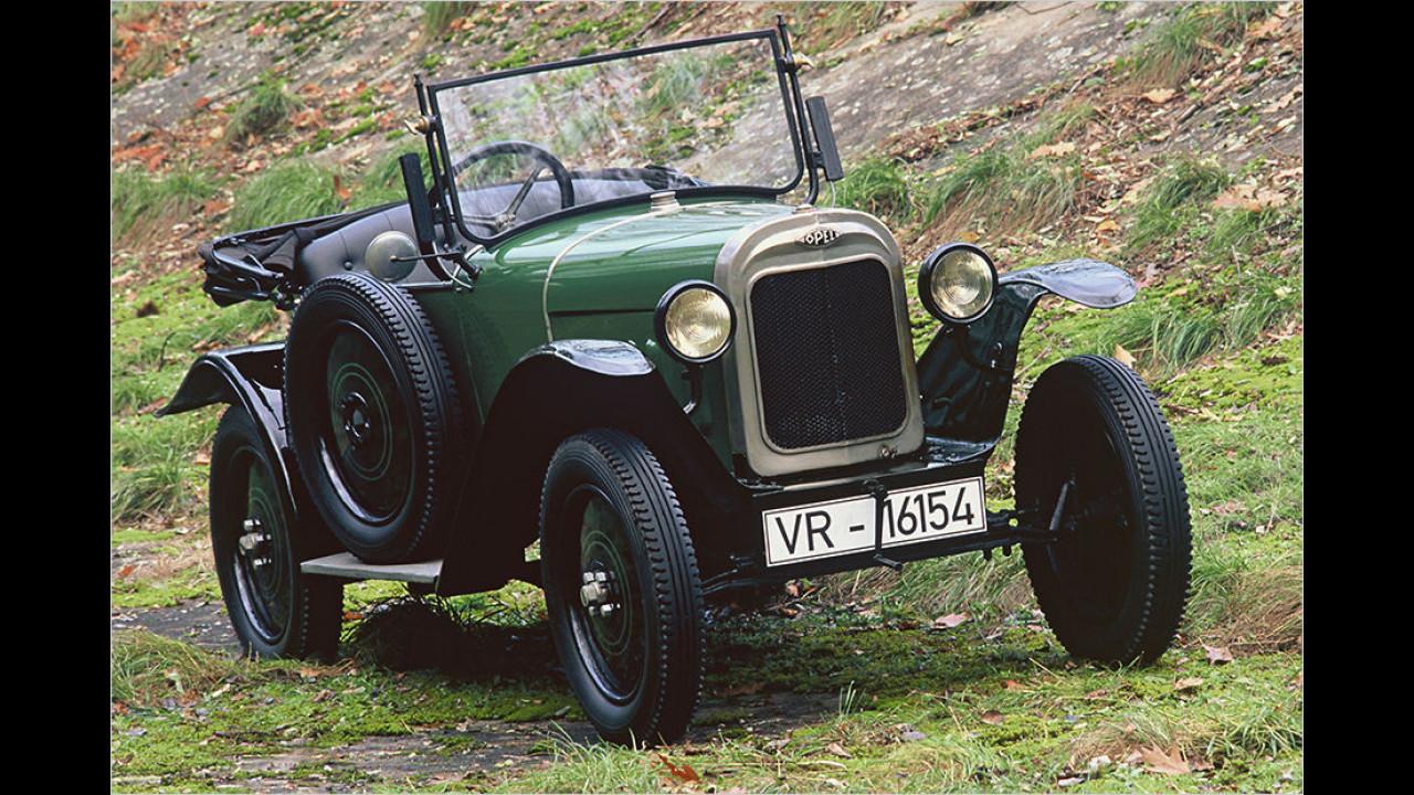1924: Opel ,Laubfrosch