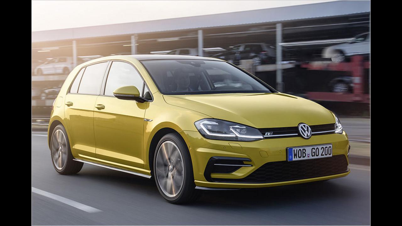 Flop: VW Golf Facelift